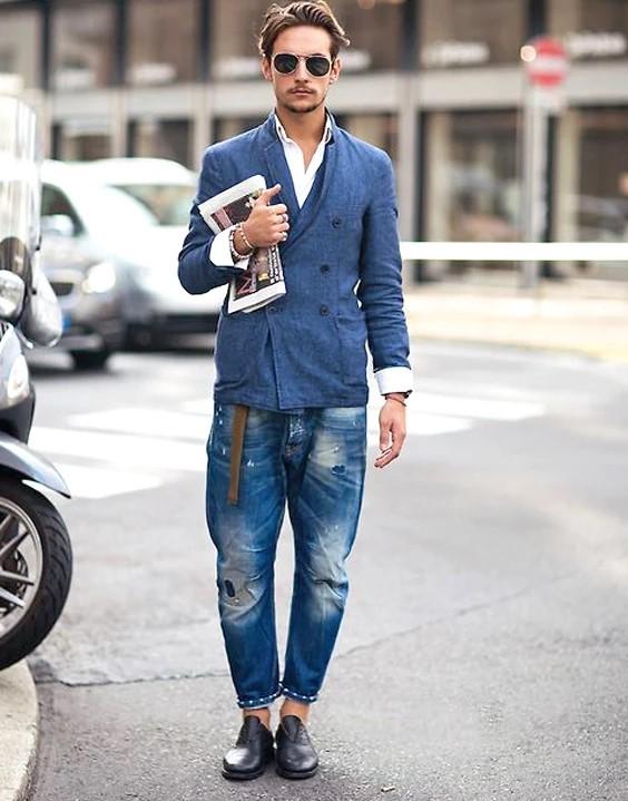 các kiểu quần jean nam