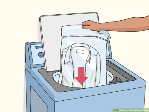 Cách giặt áo sơ mi