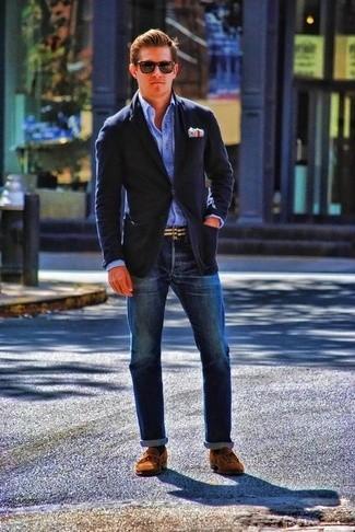 Phối đồ giày lười và quần jeans