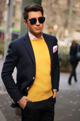 màu vàng hợp với màu gì